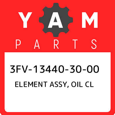 3FV-13440-30-00 Yamaha Element Assy, Oil Cl 3FV134403000, New Genuine OEM Part • 20.42£