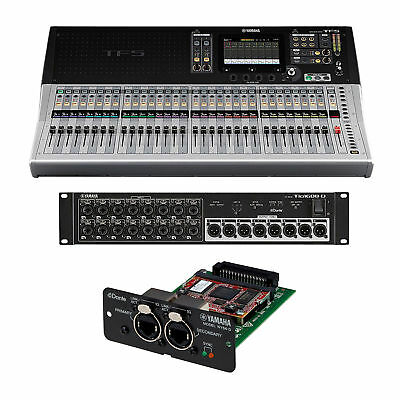 Yamaha TF5 32 Channel Digital Mixer + TIO1608-D And NY64-D Expansion Card NEW • 3,385.24£