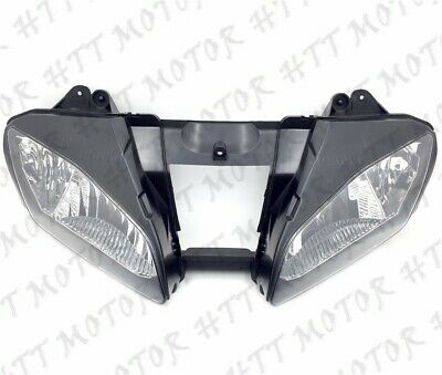 New Front Black Head Light Lamp For 2006-2007 Yamaha YZF-R6 YZFR6 R6 06 07 USA • 47.74£