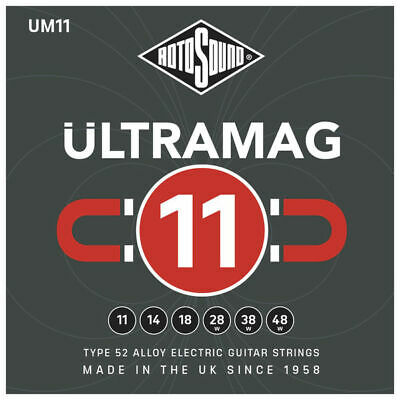 Rotosound Ultramag UM11 Type 52 Alloy Electric Guitar Strings - 11-49