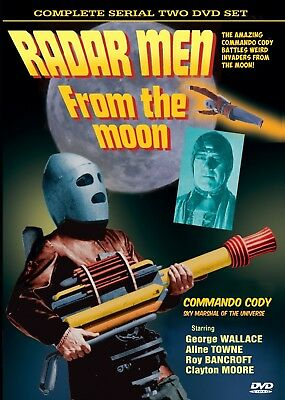 Clayton Moore - George Wallace - Radar Men From The Moon - 2 X Dvd Set Complete • 3.99£