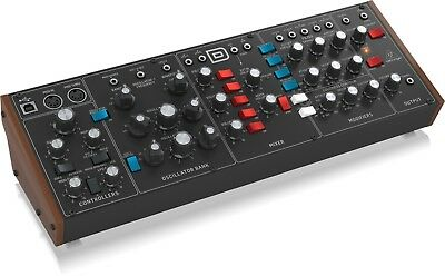 Behringer Model D Analogue Synth Con 3 Vco, Filters Ladder Ed Lfo • 390.54£