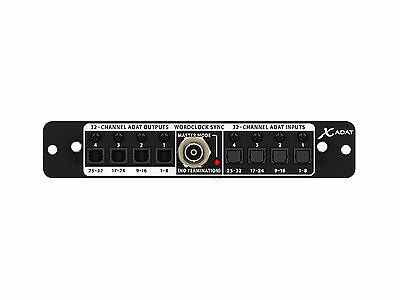 Behringer X-Adat Card Di Expansion 32 Channels Adat / Word Clock For X32 • 304.84£