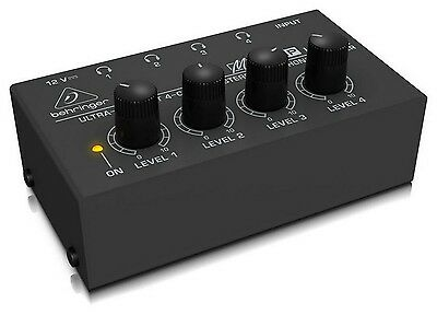 Behringer Ha400 Amplifier For Headphones 4 Canali • 54.90£