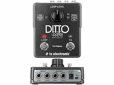 Tc Electronic Ditto X2 Looper Effect Looper Stereo Foot Control • 170.32£
