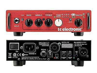 TC Electronic Bh250 Head For Bass With Toneprint 250w • 246.73£