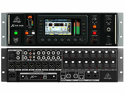 Behringer X32 Rack Digital Mixer 40 Channels - Rack Controllable Via Ipad • 891.52£