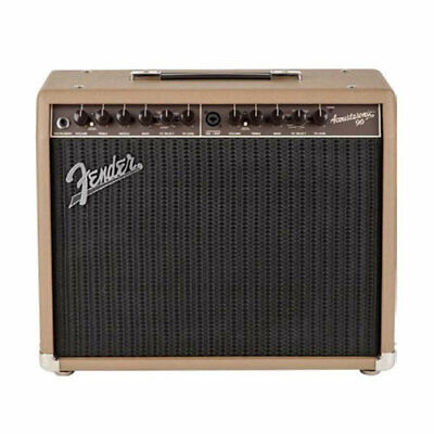 FENDER Acoustasonic 90 Solid-State Acoustic Amp 8  90W 2 Channel • 224.32£