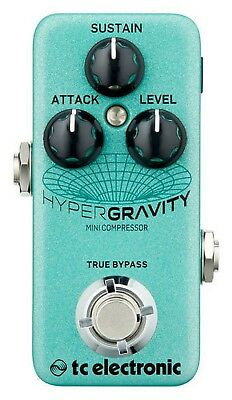 TC Electronic Hypergravity Mini Compressor Effect Compressor In Pedal • 88.50£