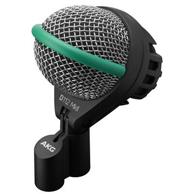 AKG D112 MKII Professional Dynamic Bass Drum Microphone Industry Standard • 152.68£
