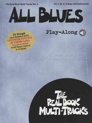 All Blues Real Book Multi Tracks Play-Along Music Book/Audio C Bb Eb Bass Clef