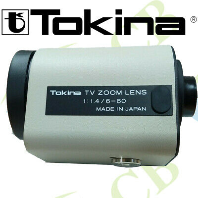 TOKINA TM10Z0614GAIDC F = 6-60mm F1.4 DC IRIS MOTORIZED ZOOM LENS CCTV CAMERA  • 461.99£