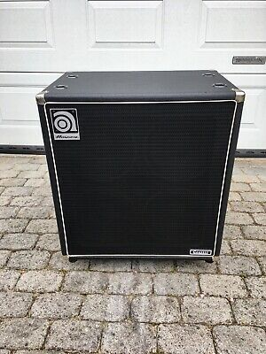 Ampeg SVT410HE Bass Cab Made In USA With Castors And Cover VGC • 425£