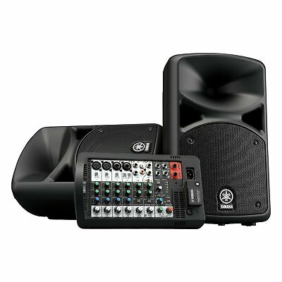 Yamaha STAGEPAS 400BT Portable PA System • 613.91£
