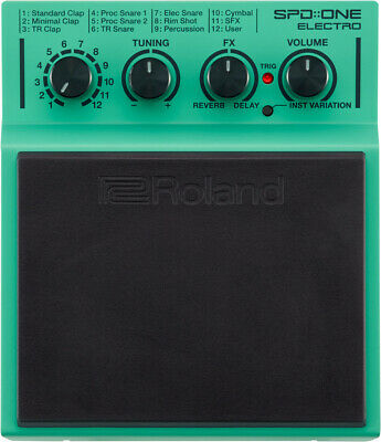 Roland SPD::ONE ELECTRO Percussion Pad • 142.89£