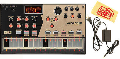 Korg Volca Drum Digital Percussion Synthesizer W/ Power Supply • 113.56£