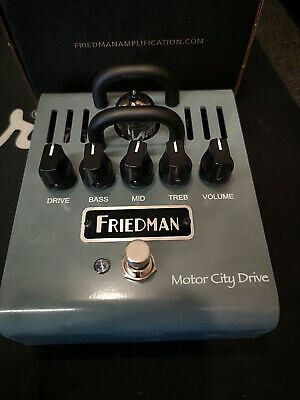 NEW Friedman Motor City Drive Valve / Tube Overdrive Guitar Effects Pedal • 179£