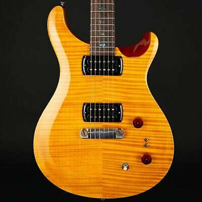 PRS SE Pauls Guitar In Amber With Tobacco Back • 799£