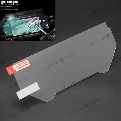 HTTMT Cluster Scratch Protection Film Screen Protector For Yamaha FZ-10 MT-10 • 13.20£