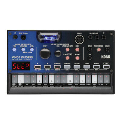 Korg Volca Nubass Vacuum Tube Analog Bass Synthesizer • 179£