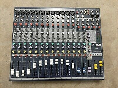 Soundcraft Mixer - Unpowered, 12 + 2 Channel (EFX12) • 256.95£