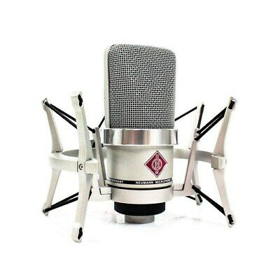 Neumann TLM-102 Large-Diaphragm Studio Condenser Microphone Studio Set Nickel • 593.04£