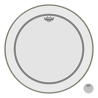 Remo 24  Powerstroke 3 Smooth White Bass Drum Head • 52.50£