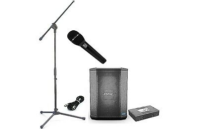 Bose S1 Pro System Multi-Position PA S1-Pro +Battery /EV ND76 Mic / Stand /Cable • 472.28£