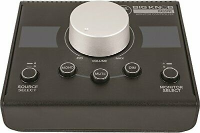 MACKIE Level Control & Sound Source/ Monitor Speaker Controller Big Knob Passive • 120.04£