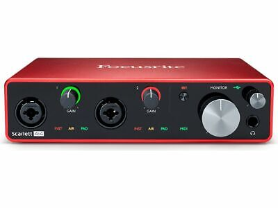 Focusrite Scarlett 4i4 USB Audio Interface (3rd Gen) • 250£
