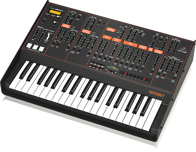 Behringer Odyssey Analogue Synth Duofonico With 37 Keys Semi-Weighted • 472.35£