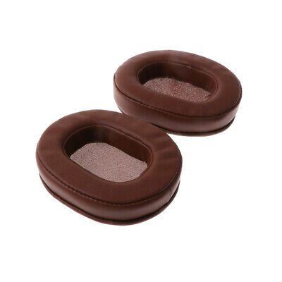 Replacement Earpads Ear Cushion Case For Audio-Technica ATH-M50 M50S M50X Brown • 6.64£