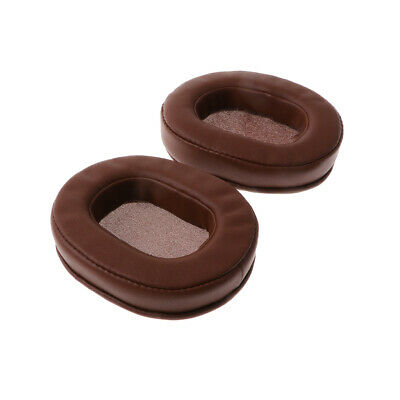 Replacement Earpads Ear Cushion Case For Audio-Technica ATH-M50 M50S M50X Brown • 6.35£