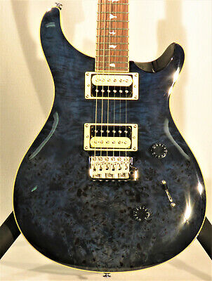Paul Reed Smith SE Custom 24 2019 Whale Blue Poplar Burl • 691.67£