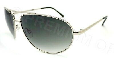 BLOC Sunglasses HURRICANE Silver - Black With Grey Gradient Lenses F138 • 32.99£