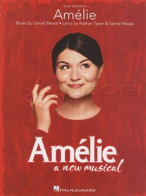 Amelie Vocal Selections A New Musical Sheet Music Book Voice Piano Stay Thin Air • 18.93£