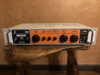 Orange OB1-500 Rack-mount Bass Guitar Head Amp 500W Class A/B Amplifier • 607.09£