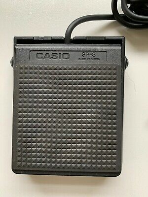 Casio SP3 Sustain Pedal - Piano Keyboard • 8.16£