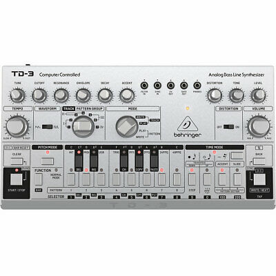 Behringer TD-3 Synthesizer - Silver • 120.30£