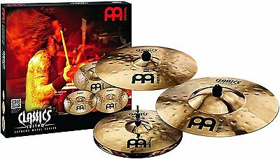 Meinl Percussion Classics Custom Extreme Metal Cymbal Set - CC-EM480 • 505£