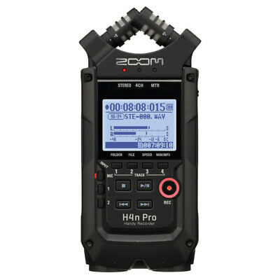 Zoom H4N Pro Handy Digital Recorder - High Quality Stereo Audio Recorder - Black • 239£