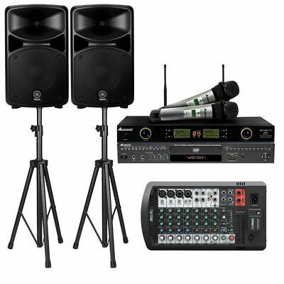 Yamaha Stagepas 600BT System W/Bluetooth, W/ Karaoke Player & Wireless Mic • 1,278.18£