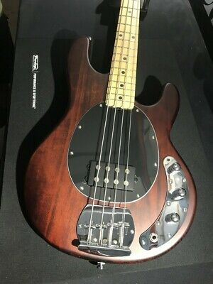 Sterling by Music Man SUB Ray4 Walnut Satin Bass guitar - Ray4 WS - Maple Neck
