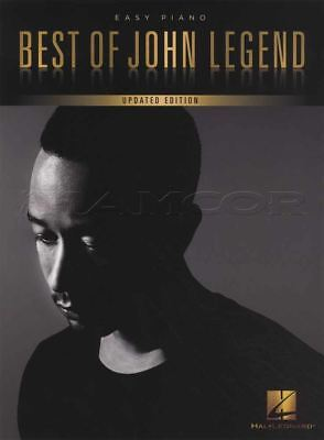 Best of John Legend Easy Piano Updated Edition Sheet Music Book All Of Me