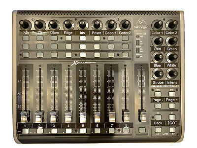 Behringer: X Touch Compact Universal USB/MIDI Controller - 9 Motorized Faders • 267.85£