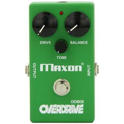 Maxon OD808 Overdrive Reissue Series Drive Pedal • 115£