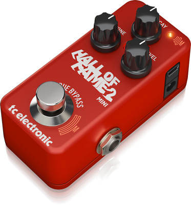 TC Electronic Hall Of Fame 2 Mini Reverb Effect IN Pedal For Guitar Toneprint • 119.33£