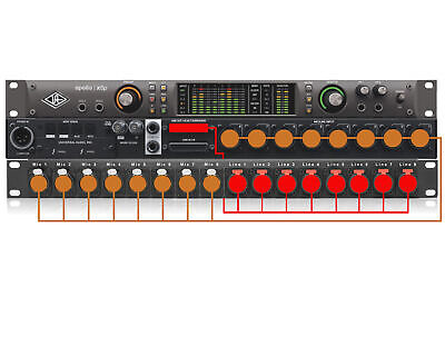 Universal Audio Apollo X8P Mic & Line Input Panel • 249.52£