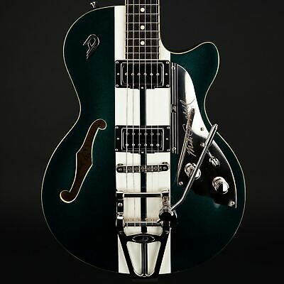 Duesenberg Starplayer TV Mike Campbell 40th Anniversary Catalina Green W/Case • 2,535£