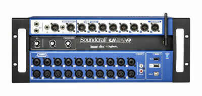 Soundcraft Ui24R 24-channel Digital Mixer/USB Multi-Track Recorder • 579.31£